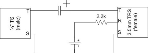 Circuit diagram for amp